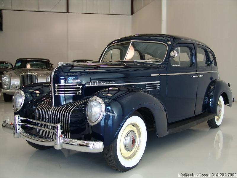 1939 chrysler royal hq - photo #2