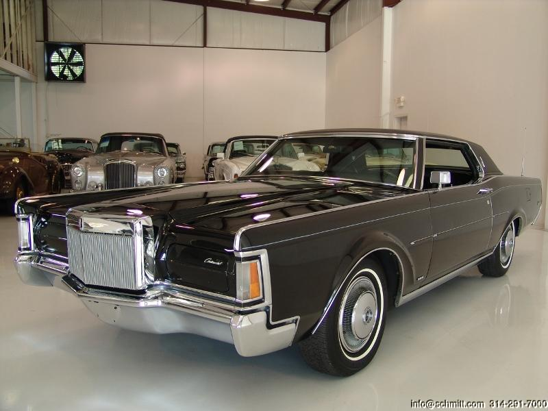 1970 LINCOLN MARK III COUPE — Daniel Schmitt & Company
