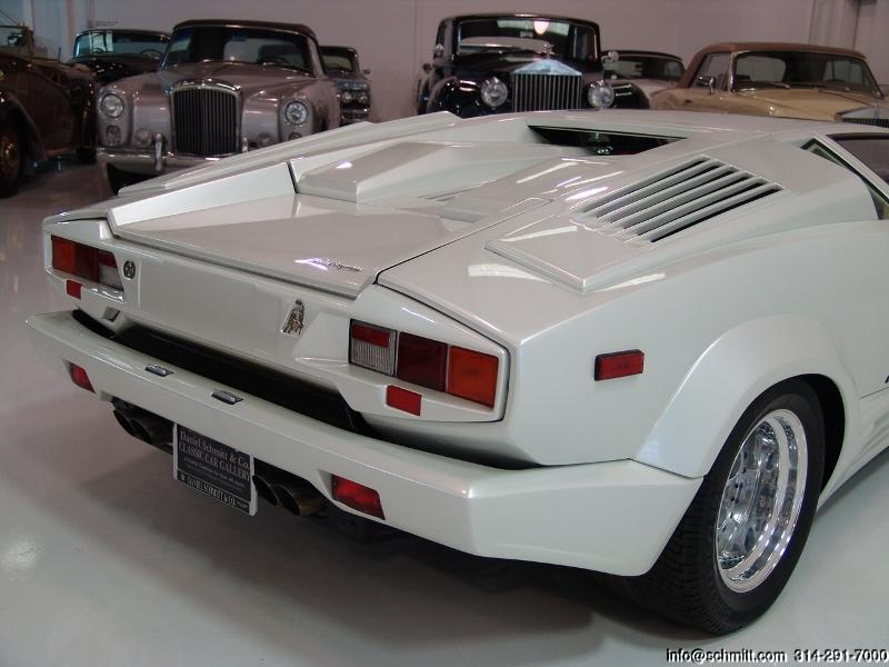 1990 Lamborghini Countach 25th Anniversary Edition Daniel Schmitt