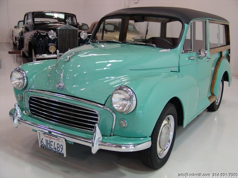 1961 MORRIS MINOR TRAVELER WOODIE — Daniel Schmitt & Company