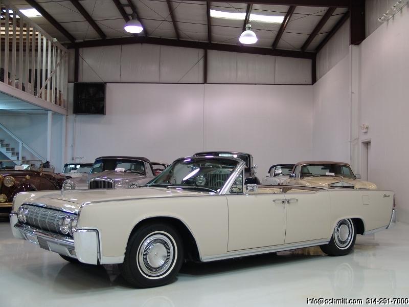 1964 lincoln continental 4 door convertible daniel schmitt company. Black Bedroom Furniture Sets. Home Design Ideas