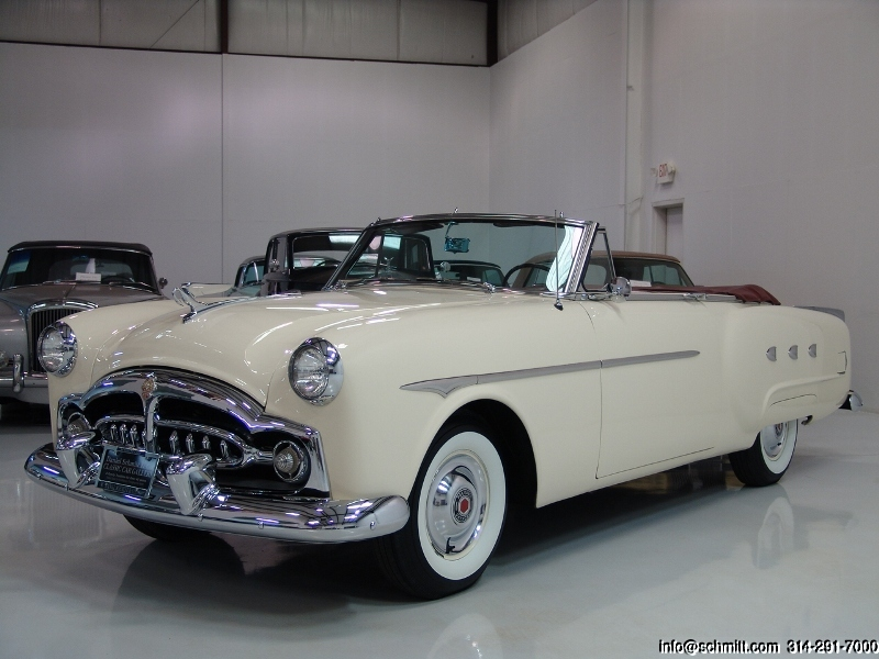 1952 packard mayfair convertible daniel schmitt company for 1952 packard 4 door sedan