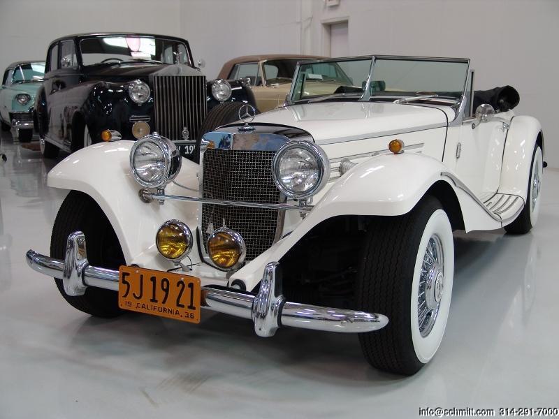 1936 MERCEDES-BENZ 500K ROADSTER REPLICA — Daniel Schmitt & Company