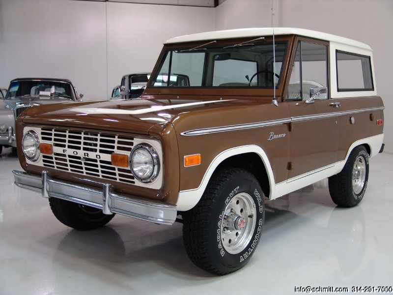1972 FORD BRONCO 4WHEEL DRIVE  Daniel Schmitt  Company