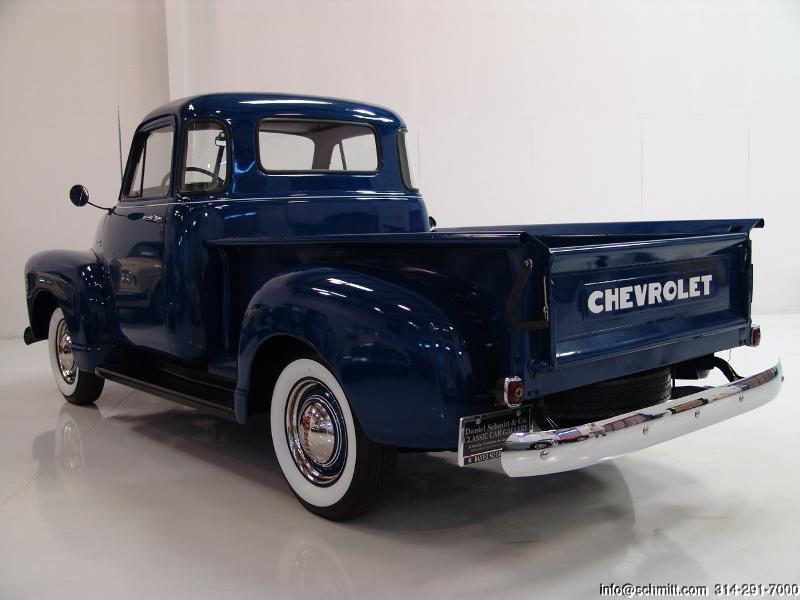 1952 CHEVROLET 3100 5-WINDOW DELUXE PICK-UP TRUCK — Daniel ...