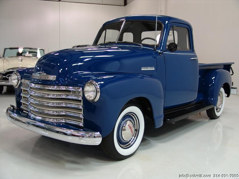 1952 CHEVROLET 3100 5-WINDOW DELUXE PICK-UP TRUCK — Daniel Schmitt ...