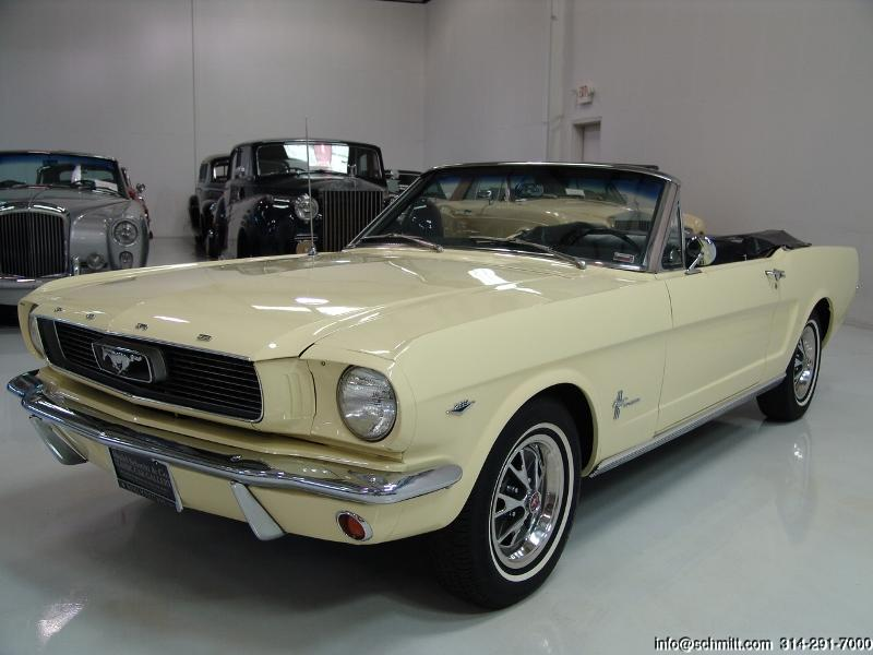 1966 ford mustang convertible daniel schmitt company. Black Bedroom Furniture Sets. Home Design Ideas