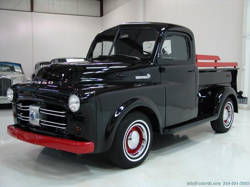 1951 FARGO PICK UP TRUCK — Daniel Schmitt & Company