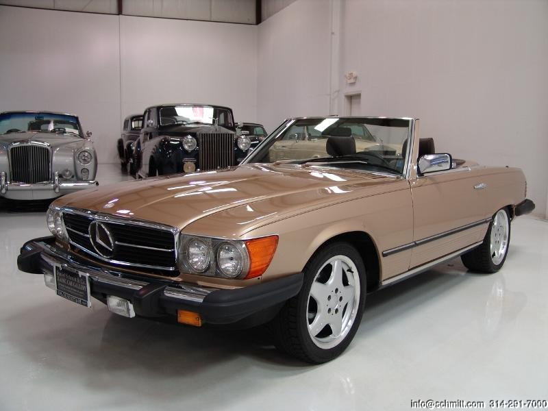 1984 mercedes benz 380sl roadster daniel schmitt company. Black Bedroom Furniture Sets. Home Design Ideas