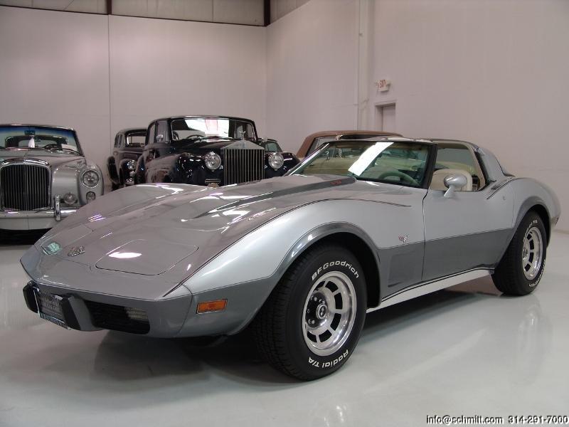 1978 Corvette L82 25th Anniversary Edition Daniel