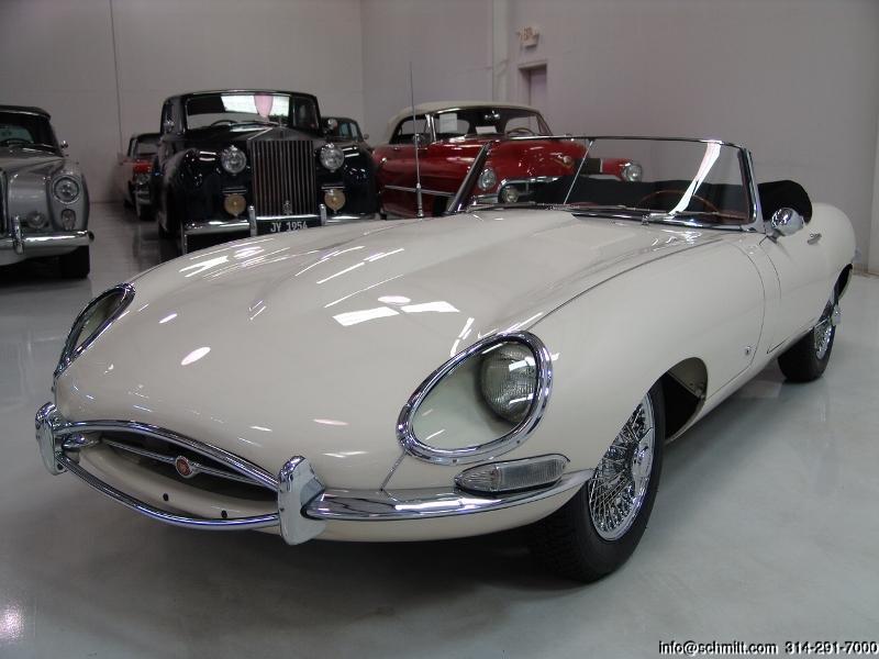 Jaguar E Type For Sale >> 1961 JAGUAR E-TYPE SERIES I ROADSTER — Daniel Schmitt ...