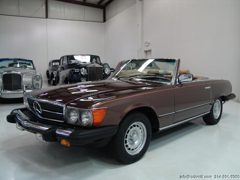 1980 mercedes benz 450sl convertible daniel schmitt for 1980s mercedes benz
