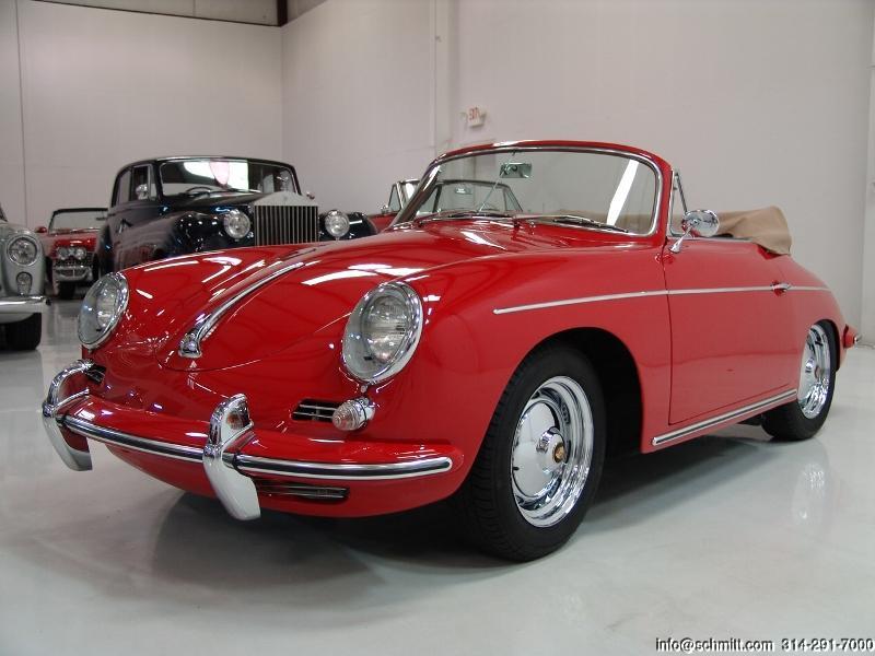 1960 Porsche 356b 1600 Super Cabriolet Daniel Schmitt