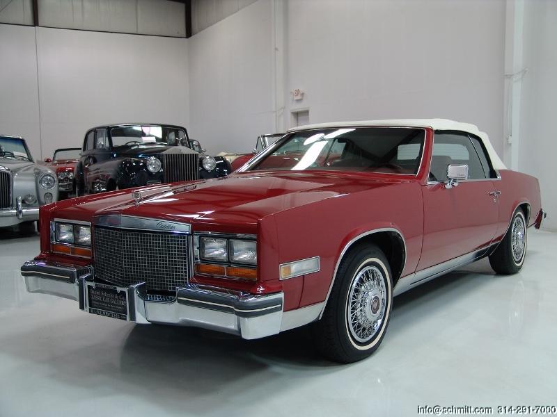 1981 cadillac eldorado convertible daniel schmitt co classic car gallery 1981 cadillac eldorado convertible