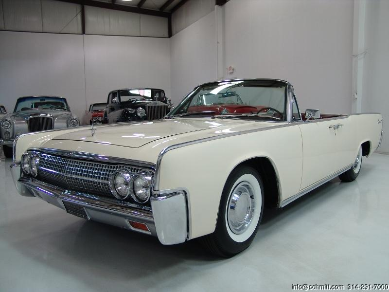 1963 lincoln continental convertible daniel schmitt. Black Bedroom Furniture Sets. Home Design Ideas
