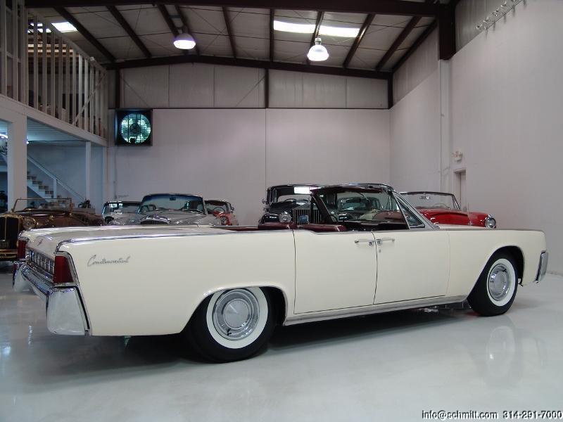 1963 lincoln continental convertible daniel schmitt company. Black Bedroom Furniture Sets. Home Design Ideas