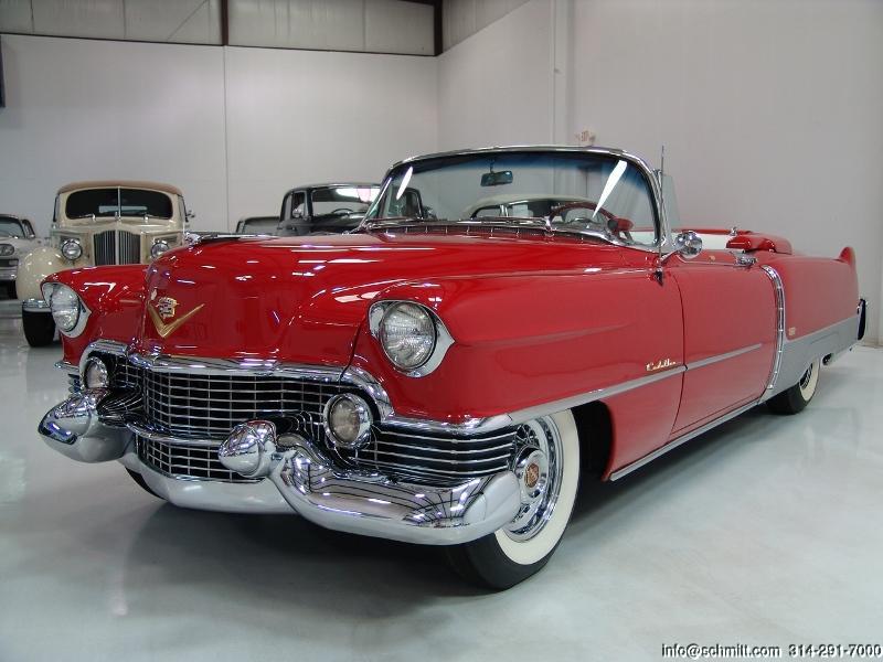 1954 Cadillac Eldorado Convertible Daniel Schmitt Amp Company