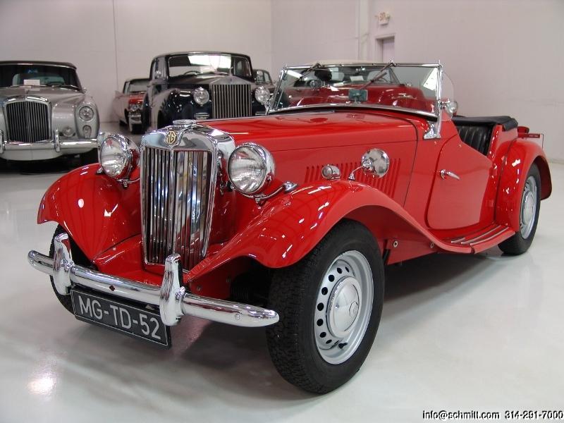 1952 MG TD ROADSTER — Daniel Schmitt & Company