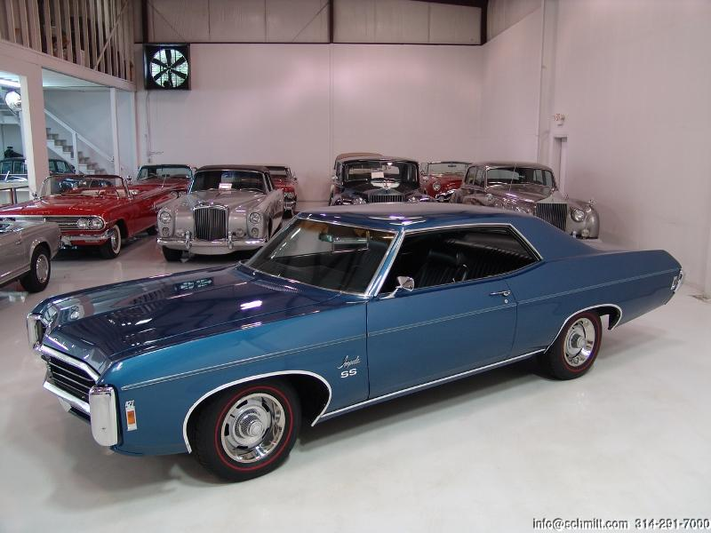 1969 Chevrolet Impala SS 427/425 HP L72 2-Door Sport Coupe