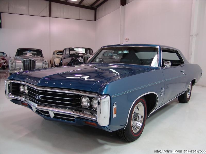 Mercedes St Louis >> 1969 Chevrolet Impala SS 427/425 HP L72 2-Door Sport Coupe