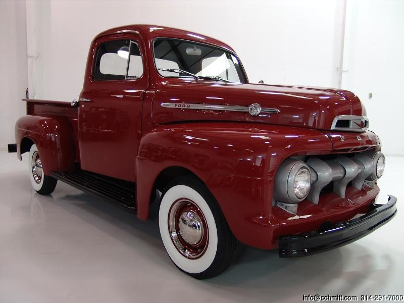 1952 FORD F1 PICK-UP TRUCK — Daniel Schmitt & Company