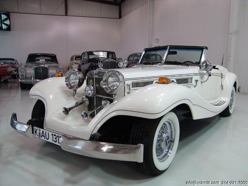 1934 mercedes benz 500k heritage roadster replica daniel