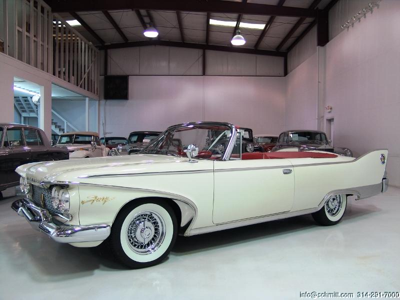 1960 Plymouth Sport Fury Convertible