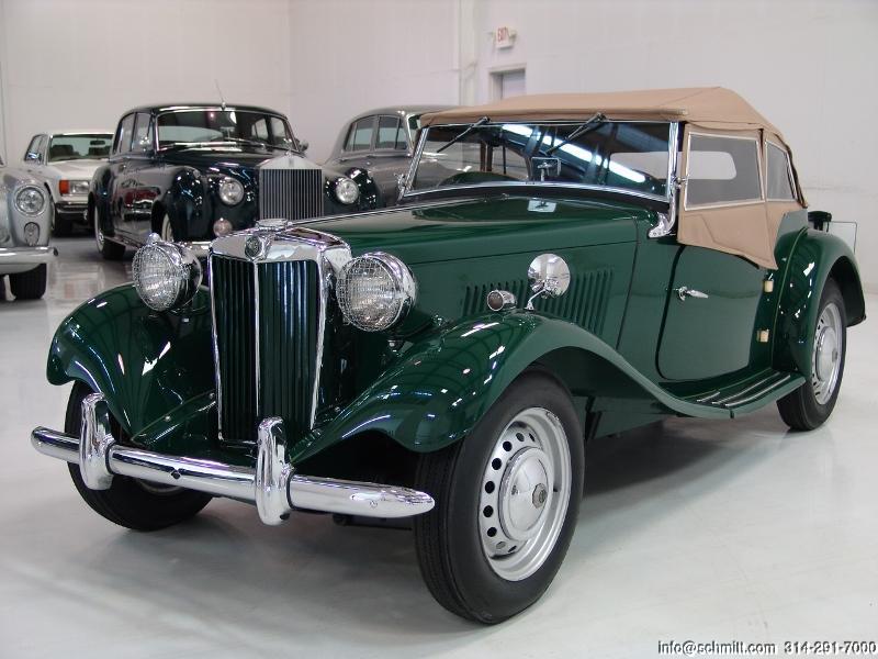 1952 Mg Td Roadster Daniel Schmitt Amp Company