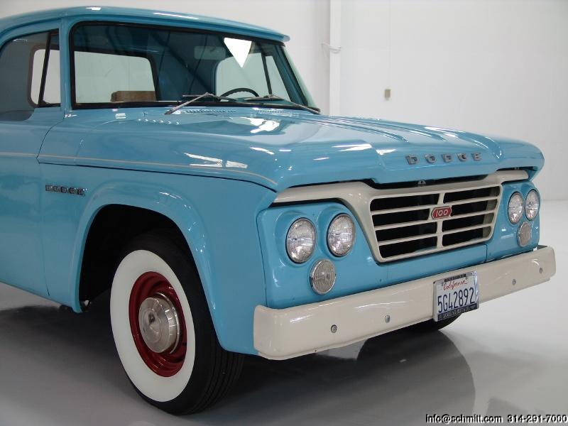 1962 Dodge D 100 Pick Up Daniel Schmitt Amp Company
