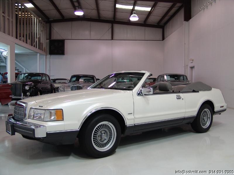 1988 Lincoln Continental Mark Vii Convertible Daniel