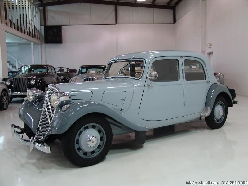 citroen traction avant restoration