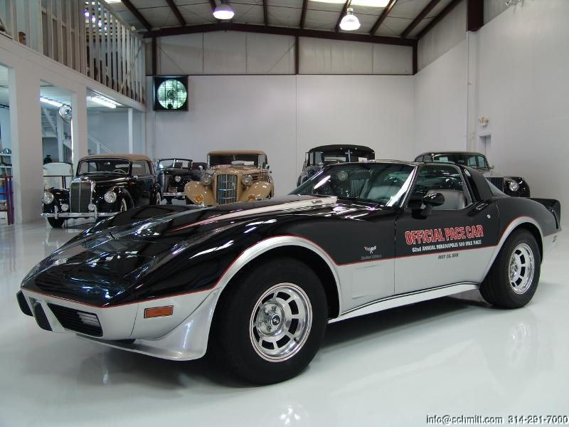 1978 chevrolet corvette pace car l82 4 speed daniel schmitt company. Black Bedroom Furniture Sets. Home Design Ideas
