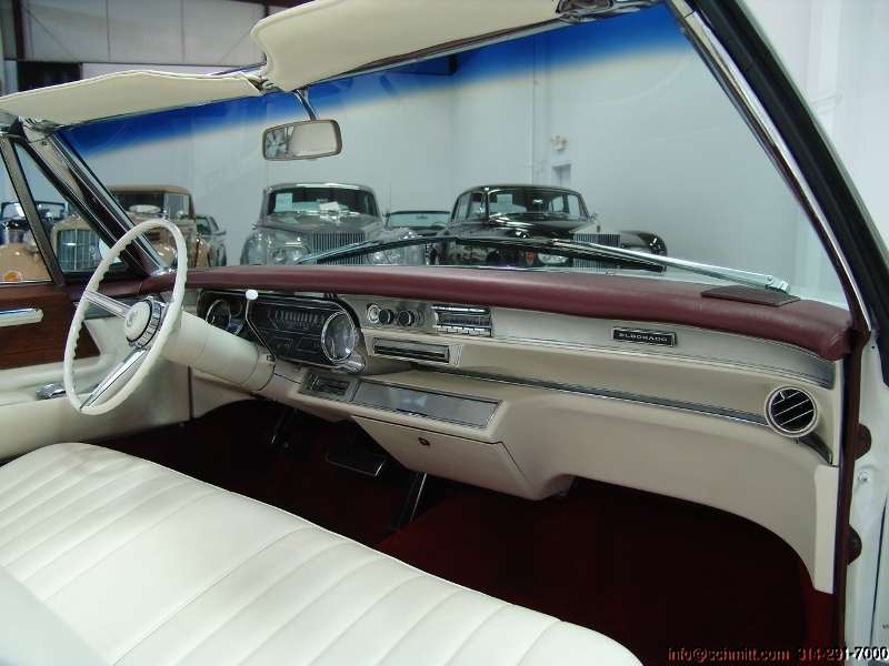A on 1966 Cadillac Coupe Deville Convertible