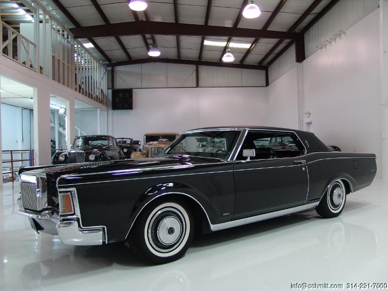 1970 lincoln continental mark iii 2 door hardtop daniel schmitt company. Black Bedroom Furniture Sets. Home Design Ideas