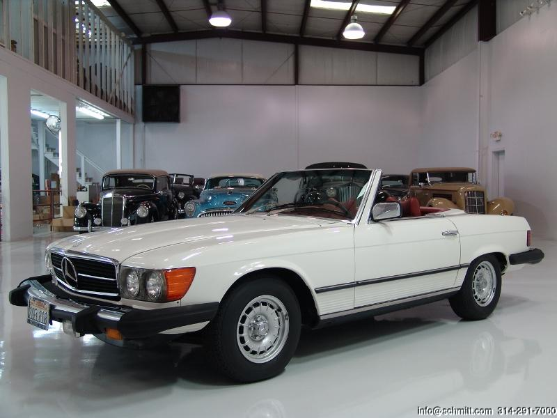 1979 mercedes benz 450sl roadster daniel schmitt company for Mercedes benz family discount