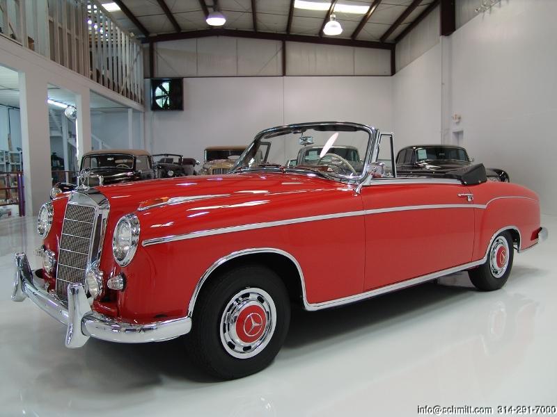 1960 Mercedes Benz 220se Cabriolet Daniel Schmitt Company