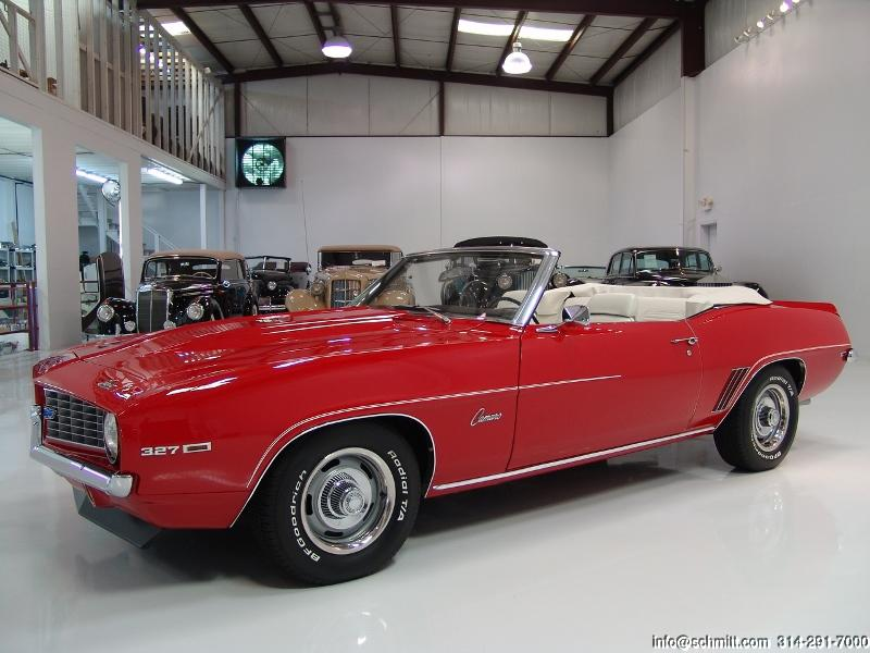 1969 CHEVROLET CAMARO CONVERTIBLE – Daniel Schmitt & Co