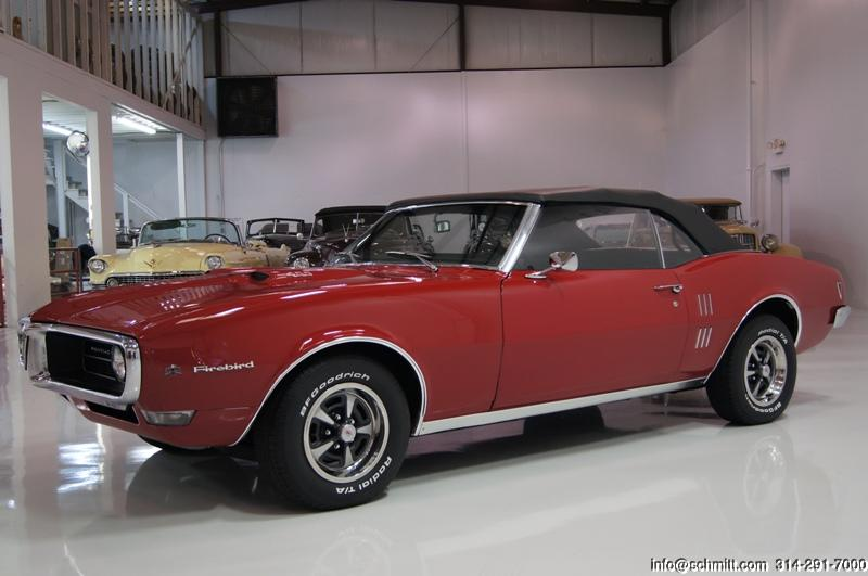 1968 pontiac firebird 400 convertible daniel schmitt company. Black Bedroom Furniture Sets. Home Design Ideas