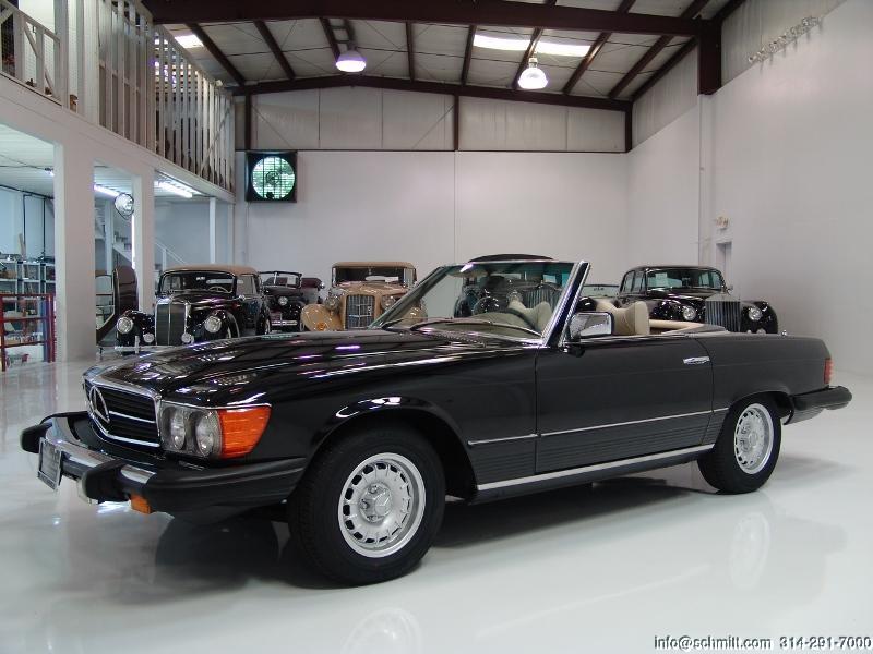 1977 mercedes benz 450sl convertible daniel schmitt for Black convertible mercedes benz