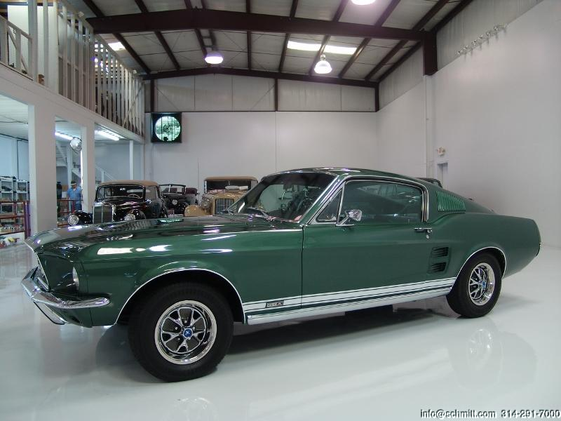 1967 ford mustang gta fastback daniel schmitt company - 1967 Ford Mustang Fastback Green
