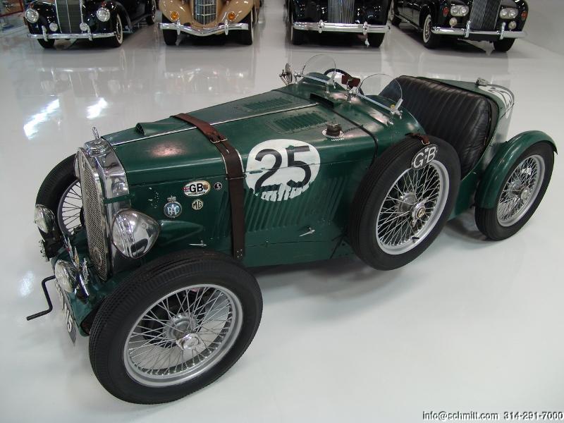 1947 MG TC CLASSIC RACE CAR — Daniel Schmitt & Company
