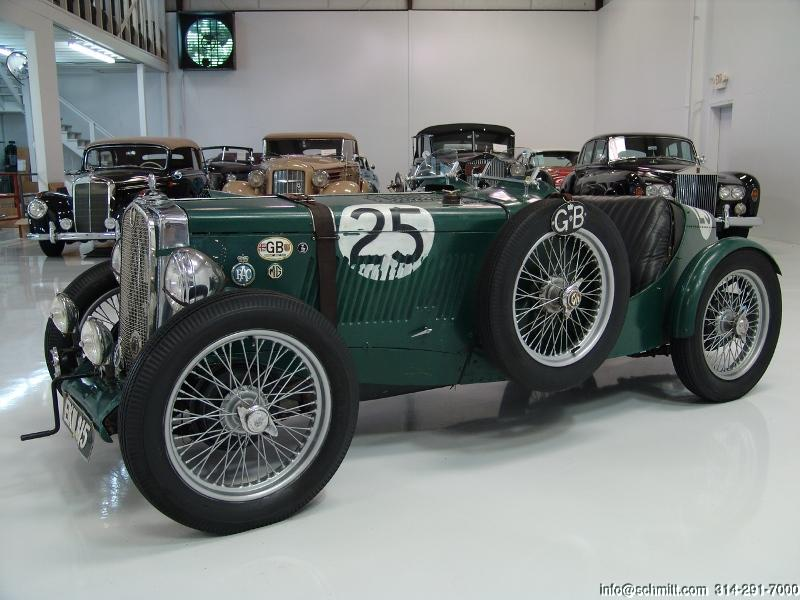 1947 MG TC CLASSIC RACE CAR — Daniel Schmitt & Company