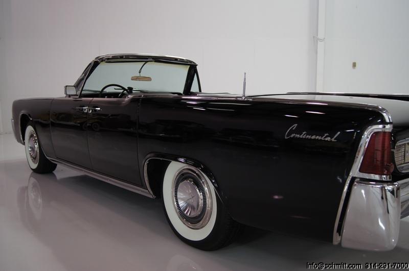 1962 lincoln continental 4 door convertible daniel schmitt company. Black Bedroom Furniture Sets. Home Design Ideas