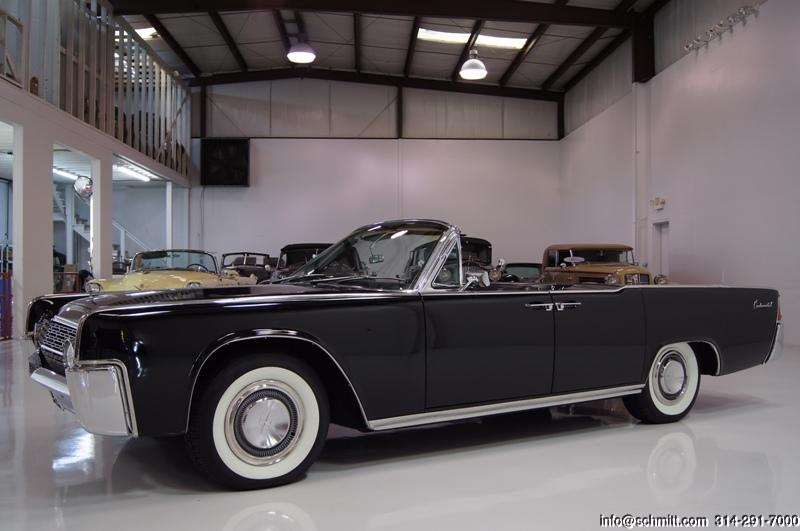 1962 lincoln continental 4 door convertible daniel schmitt company. Black Bedroom Furniture Sets. Home Design Ideas