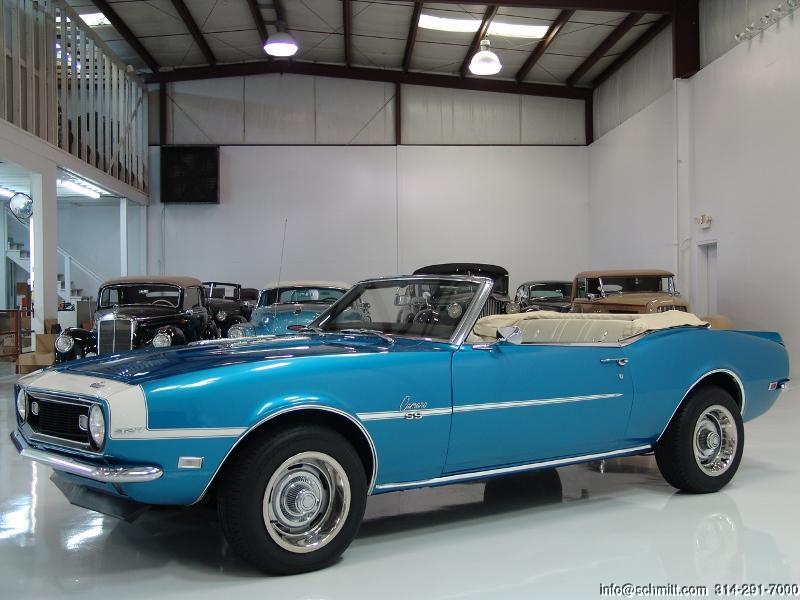 1968 chevrolet camaro convertible daniel schmitt company. Black Bedroom Furniture Sets. Home Design Ideas