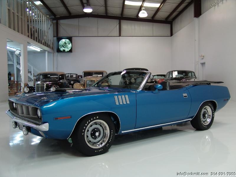 1971 Plymouth Hemi Cuda Convertible Daniel Schmitt Company
