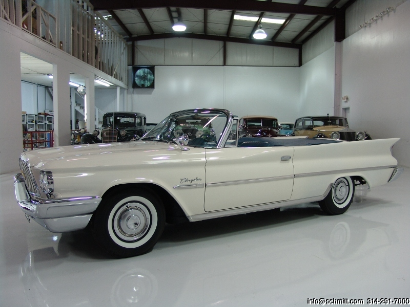 1960 chrysler convertible