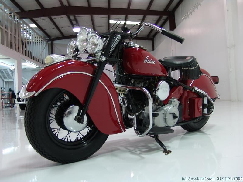Collector Cars For Sale >> 1948 INDIAN CHIEF 348 MOTORCYCLE – Daniel Schmitt & Co.