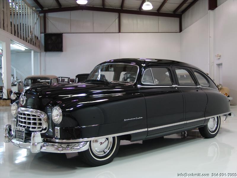 Nash Car: 1950 NASH STATESMAN SEDAN