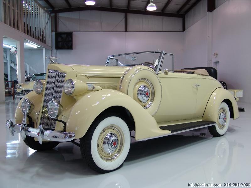 1937 Packard 115c Convertible Daniel Schmitt Amp Co